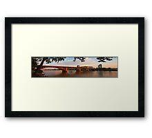 Broadway Bridge at Little Rock Framed Print