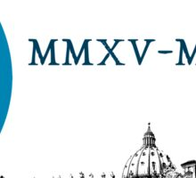 Extraordinary Jubilee of Mercy with logo, 2015 - 2016 (B) Sticker