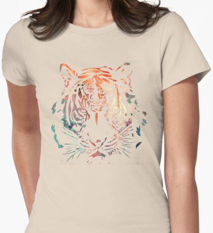 Richard Parker Womens Fitted T-Shirt