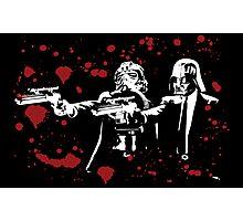 "Darth Vader - Say ""What"" Again! Version 2 (Blood Splatter) Photographic Print"