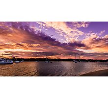 Bedroom Sunset Photographic Print
