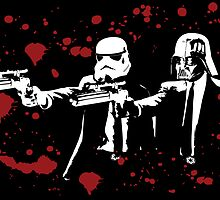 "Darth Vader - Say ""What"" Again! Version 3 (Blood Splatter) by KAMonkey"