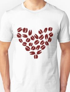 Coffee Bean Heart T-Shirt