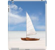 Yacht on the Beach iPad Case/Skin