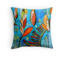 Help for the Kelp Throw Pillow