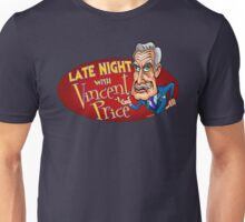 Late Night with Vincent Price  Unisex T-Shirt