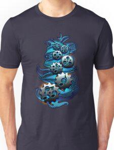 Music Engineer - Music Notes & Gears (blue) Unisex T-Shirt