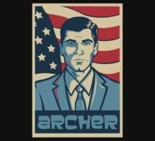 Archer For President Kids Tee