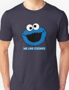 Blue Cookie Monster Unisex T-Shirt