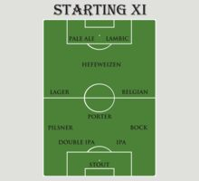 Starting XI by StingyCat