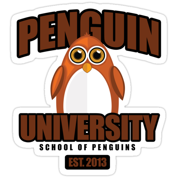Penguin University - Brown 2 by Adamzworld