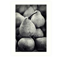Stacked Pears Art Print