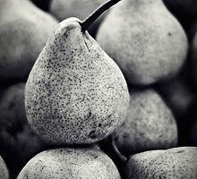 Stacked Pears by Karen E Camilleri