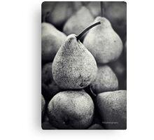 Stacked Pears Metal Print