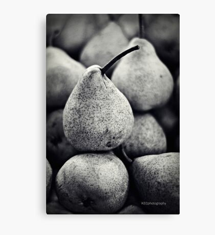 Stacked Pears Canvas Print