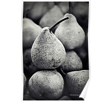 Stacked Pears Poster