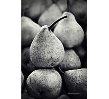 Stacked Pears Photographic Print