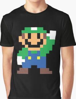 Super Mario Maker - Luigi Costume Sprite Graphic T-Shirt