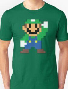 Super Mario Maker - Luigi Costume Sprite Unisex T-Shirt