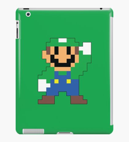Super Mario Maker - Luigi Costume Sprite iPad Case/Skin