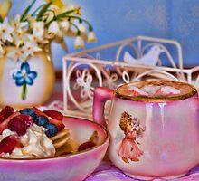 Hot Chocolate & Pancakes for Me! by Deborah McGrath