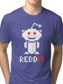 Reddit Logo 8-Bit Tri-blend T-Shirt