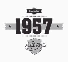 Born in 1957 Kids Clothes