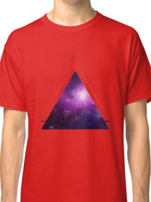 Galaxy 3D Triangle Classic T-Shirt
