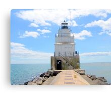 wisconsin lighthouse Canvas Print