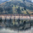 Lake Hume Reflections -The HDR Experience by Philip Johnson