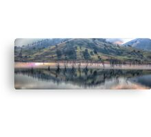 Lake Hume Reflections -The HDR Experience Canvas Print