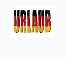 Urlaub - German flag Unisex T-Shirt