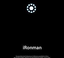 Iron Man iPhone Case by lgcooljman