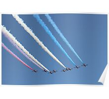 Red Arrows Air Display Poster