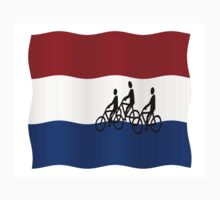 Cycling in The Netherlands Kids Tee