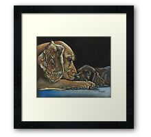 Tender Loving Care Framed Print