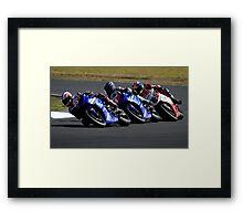 FX Superbikes - Parkes - Curtain - Stauffer Framed Print