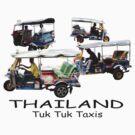 Bangkok Tuk-Tuks by DAdeSimone