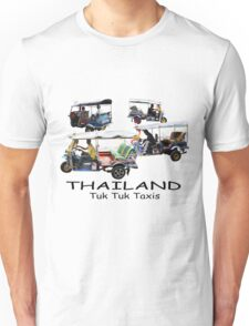Bangkok Tuk-Tuks Unisex T-Shirt