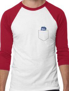 Pocket Tardis Men's Baseball ¾ T-Shirt