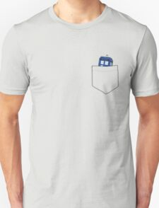 Pocket Tardis Unisex T-Shirt