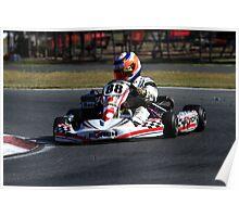 Go Kart Racer Poster