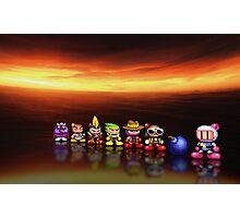 Bomberman - Panic Bomber pixel art Photographic Print