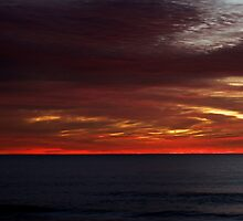 Red dawn by Daniel Pertovt