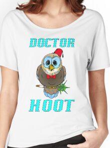 Doctor Hoot Women's Relaxed Fit T-Shirt