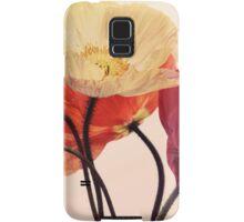 Posing Poppies Samsung Galaxy Case/Skin