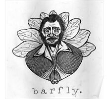 "Charles ""Barfly"" Bukowski Poster"