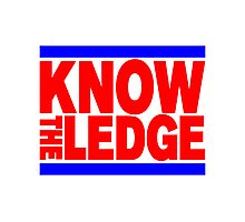 KNOW THE LEDGE Photographic Print