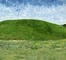 Nikwasi Mound by Jean Gregory  Evans
