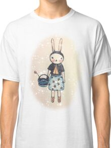 Snootbunny Pale - Halo Background Classic T-Shirt